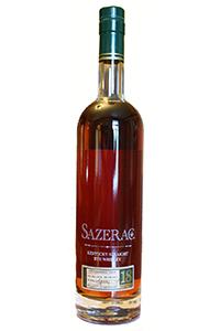 Sazerac Rye 18 Year Old 2014 Release. Image courtesy Buffalo Trace.