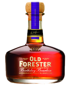 The 2013 edition of Old Forester Birthday Bourbon. Image courtesy Brown-Forman.