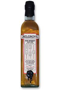 Belgrove Rye Whiskey. Image courtesy Belgrove Distillery.