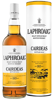 Laphroaig Cairdeas 2014 Amontillado Cask. Image courtesy Laphroaig.