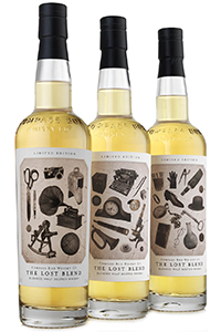 The Lost Blend from Compass Box. Image courtesy Compass Box.