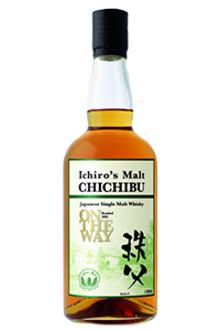 Chichibu On The Way Japanese Single Malt. Image courtesy Venture Whisky Ltd./Ichiro's Malts.