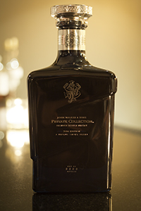 The John Walker & Sons Private Collection 2014 Blended Scotch Whisky. Photo ©2014 by Mark Gillespie.