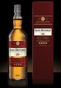 Glen Deveron 20. Image courtesy Dewar's/Glen Deveron.