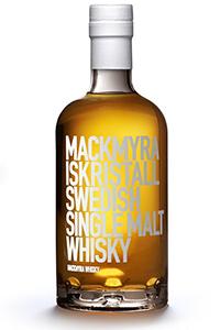 Mackmyra Iskristall Single Malt Whisky. Image courtesy Mackmyra Distillery.