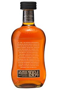 Jura 1984 Single Malt Scotch Whisky. Image courtesy Whyte & Mackay.