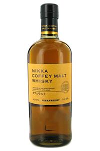 Nikka Coffey Malt Whisky. Image courtesy Nikka Whisky.