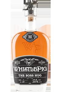 """WhistlePig's The Boss High 2014 """"Spirit of Mortimer"""" Rye Whiskey. Image courtesy WhistlePig Farm."""