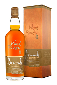 Benromach Hermitage Wood Finish. Image courtesy Gordon & MacPhail.