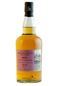 "Wemyss Malts ""Bench With a Sea View"" 1997 Clynelish. Image courtesy Wemyss Malts."