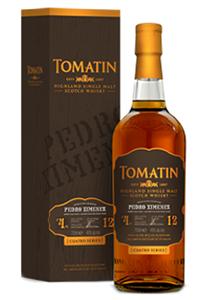 Tomatin Cuatro Pedro Ximenez Highland Single Malt Scotch Whisky. Image courtesy Tomatin.