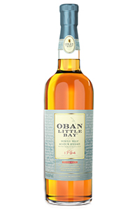 Oban Little Bay Highland Single Malt Scotch Whisky. Image courtesy Diageo.