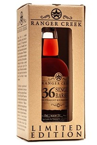 Ranger Creek .36 Single Barrel Bourbon. Image courtesy Ranger Creek Distillery.