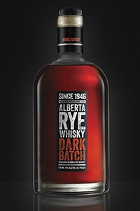Alberta Rye Dark Batch. Image courtesy Beam Suntory.