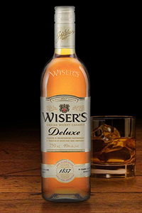 Wiser's Deluxe Canadian Whisky. Image courtesy Corby Spirits & Wine.