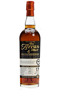 The Arran 17 Private Cask for The Whisky Exchange. Image courtesy The Whisky Exchange/Speciality Drinks Ltd.