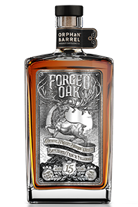 Orphan Barrel's Forged Oak Bourbon. Image courtesy Diageo.