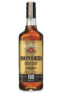 Jim Beam Bonded Bourbon. Image courtesy Jim Beam.