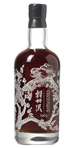 This 1963 Karuizawa brought a high bid of $32,249 USD at the Bonhams Hong Kong whisky auction February 6, 2015. Image courtesy Bonhams.