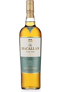 The Macallan 15 Fine Oak. Image courtesy The Macallan/Edrington.