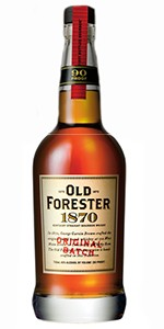 Old Forester 1870 Original Batch. Image courtesy Old Forester/Brown-Forman.
