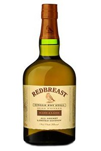 Redbreast Mano a Lámh Single Pot Still Irish Whiskey. Image courtesy Irish Distillers Pernod Ricard.