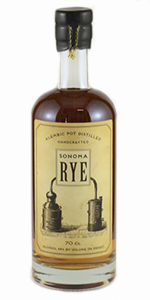 Sonoma Rye Whiskey. Image courtesy Sonoma County Distilling Company.