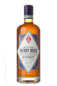 Westland Sherry Wood American Single Malt. Image courtesy Westland Distillery.