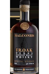 Balcones Fr. Oak Texas Single Malt Whisky. Image courtesy Balcones Distilling.