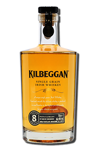 Kilbeggan 8 Year Old Single Grain. Image courtesy Kilbeggan/Beam Suntory.