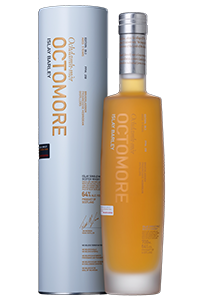 Octomore 6.3 Islay Barley Single Malt Scotch Whisky. Image courtesy Bruichladdich.