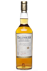 Talisker 18 Highland Single Malt. Image courtesy Diageo.
