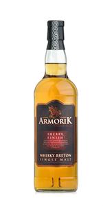 Armorik Sherry Cask Finish. Image courtesy Distillerie Warenghem.