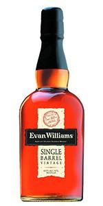 Evan Williams Single Barrel Bourbon. Image courtesy Heaven Hill.