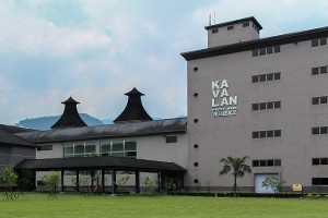 The King Car (Kavalan) Distillery in Taiwan. Photo ©2011 by Mark Gillespie.