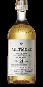 Aultmore 21 Years Old Speyside Single Malt. Image courtesy Dewar's/Bacardi.