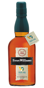Evan Williams Single Barrel 2006 Vintage Kentucky Derby Festival Bottling. Image courtesy Heaven Hill.