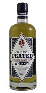 Westland Peated American Single Malt. Photo ©2015 by Mark Gillespie.