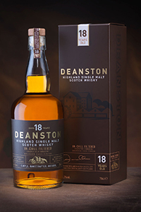 Deanston 18 Years Old Single Malt. Image courtesy Burn Stewart Distillers.