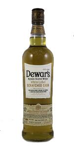 Dewar's White Label Scratched Cask. Photo ©2015 by Mark Gillespie.