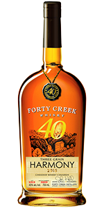 Forty Creek Three Grain Harmony. Image courtesy Forty Creek.