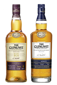 The Glenlivet Master Distiller's Reserve Solera Vatted (L) and Small Batch Single Malts. Images courtesy The Glenlivet/Chivas Brothers