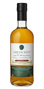 Green Spot Château Léoville Barton Single Pot Still Irish Whiskey. Image courtesy Irish Distillers.