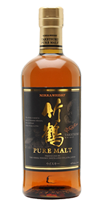 Nikka Taketsuru Pure Malt Japanese Whisky. Image courtesy Nikka Whisky.