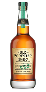 Old Forester 1897 Bottled in Bond Bourbon. Image courtesy Brown-Forman.