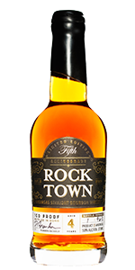 Rock Town Distillery 5th Anniversary Bottled in Bond Bourbon. Image courtesy Rock Town Distillery.