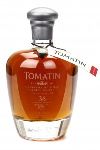 Tomatin 36 Year Old Single Malt Scotch Whisky. Image courtesy Tomatin.