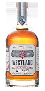 Westland's hand-filled single cask American Single Malt Whisky. Image courtesy Westland Distillery.