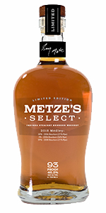 Mettle's Select 2015 Medley Bourbon. Image courtesy MGP Ingredients.
