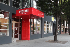 Westland Distillery in Seattle, Washington. Photo ©2015 by Mark Gillespie.